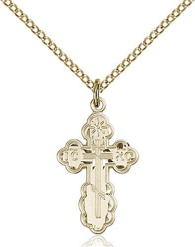 Gold Filled St. Olga Necklace #86953