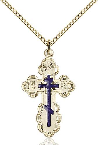Gold Filled St. Olga Necklace #86957