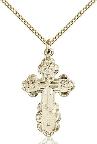 Gold Filled St. Olga Necklace #86961