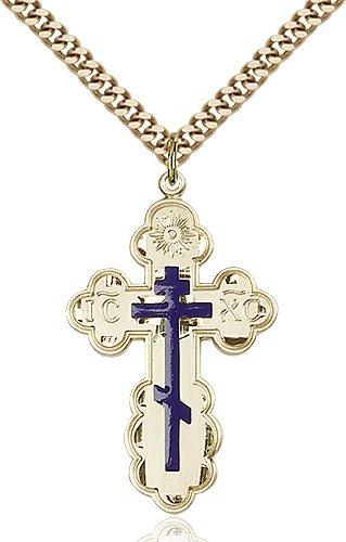 Gold Filled St. Olga Necklace #86965