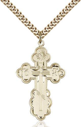 Gold Filled St. Olga Necklace #86969