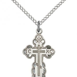 Sterling Silver St. Olga Necklace #86956