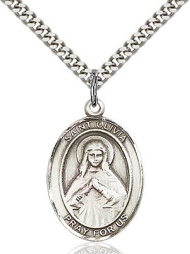 St. Olivia Medal - 82708 Saint Medal