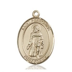 St. Peregrine Laziosi Medal - 82158 Saint Medal