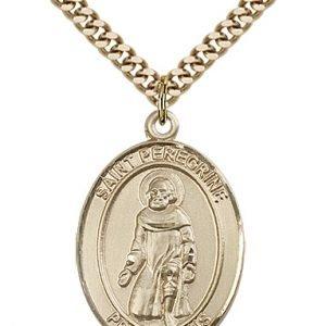 St. Peregrine Laziosi Medal - 82157 Saint Medal