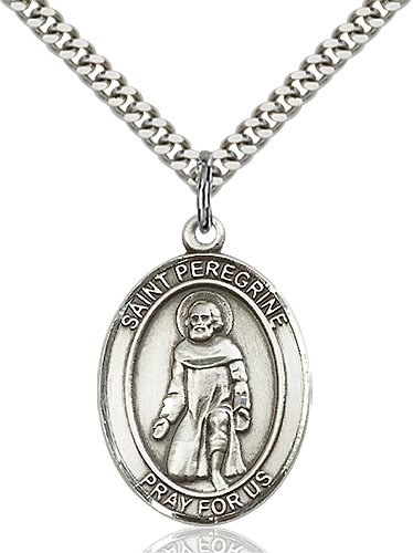 St. Peregrine Laziosi Medal - 19196 Saint Medal