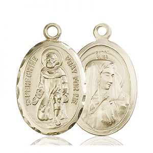 St. Peregrine Medal - 83000 Saint Medal