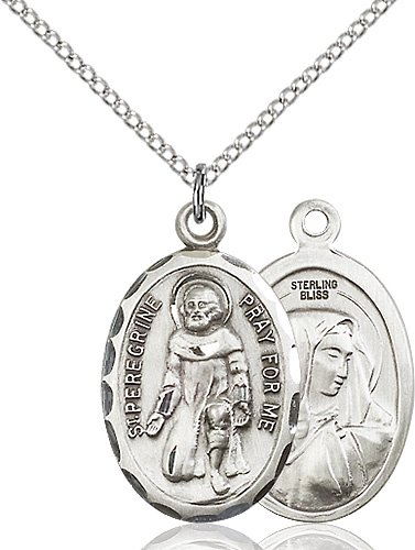 St. Peregrine Medal - 83001 Saint Medal