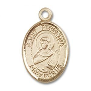 St. Perpetua Charm - 14 Karat Gold Filled (#M0045)