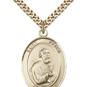 St. Peter the Apostle Medal - 82163 Saint Medal