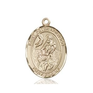 St. Peter Nolasco Medal - 84028 Saint Medal