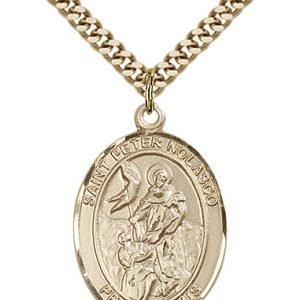St. Peter Nolasco Medal - 82655 Saint Medal