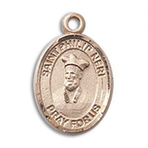 St. Philip Neri Charm - 14 Karat Gold Filled  (#85418)