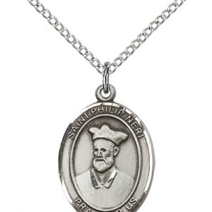 St Philip Neri Medal - Sterling Silver