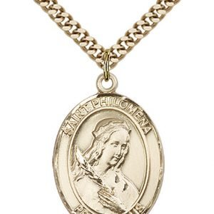 St. Philomena Medal - 82133 Saint Medal