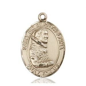 St. Pio of Pietrelcina Medal - 82254 Saint Medal
