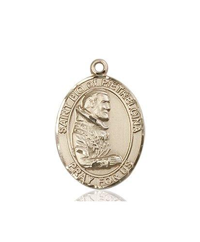 St. Pio of Pietrelcina Medal - 83620 Saint Medal