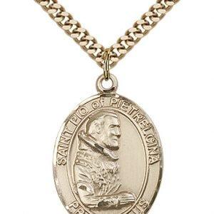 St. Pio of Pietrelcina Medal - 82253 Saint Medal