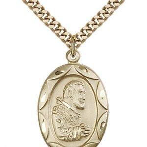 St. Pio of Pietrelcina Medal - 83076 Saint Medal