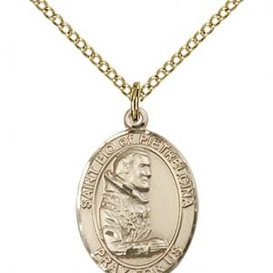 St. Pio of Pietrelcina Medal - 83619 Saint Medal