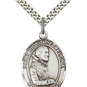St. Pio of Pietrelcina Medal - 82255 Saint Medal