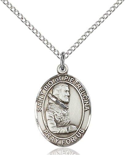 St. Pio of Pietrelcina Medal - 83621 Saint Medal