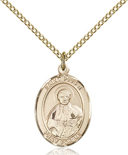 St. Pius X Medal - 84060 Saint Medal