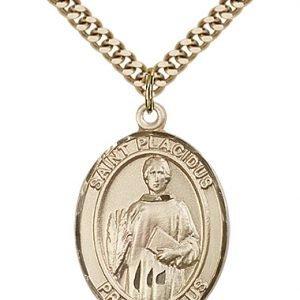 St. Placidus Medal - 82538 Saint Medal