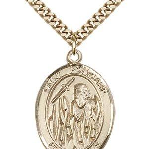 St. Polycarp of Smyrna Medal - 82844 Saint Medal