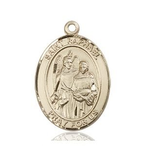 St. Raphael the Archangel Medal - 82170 Saint Medal