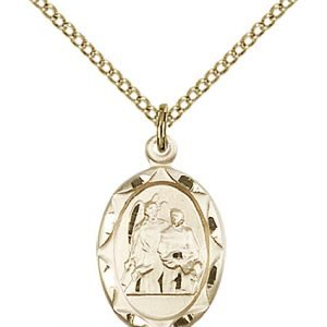St. Raphael Pendant - 83033 Saint Medal