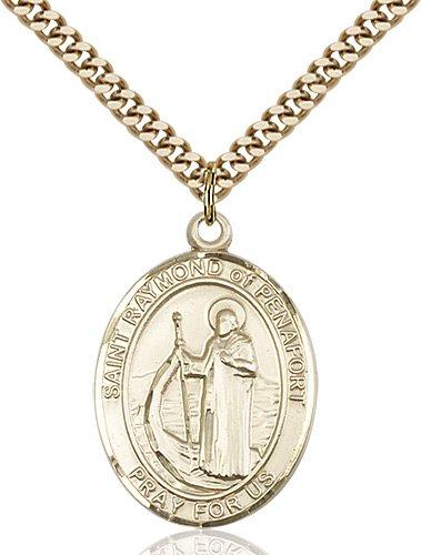 St. Raymond of Penafort Medal - 82904 Saint Medal