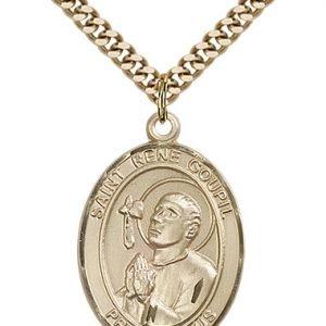 St. Rene Goupil Medal - 82772 Saint Medal