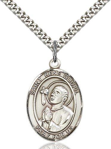 St. Rene Goupil Medal - 82774 Saint Medal