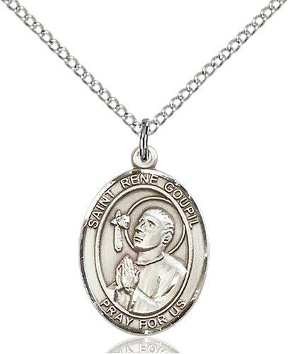St. Rene Goupil Medal - 84146 Saint Medal