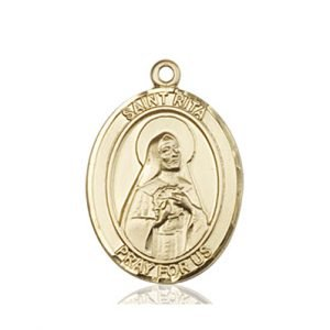 St. Rita of Cascia Medal - 83542 Saint Medal
