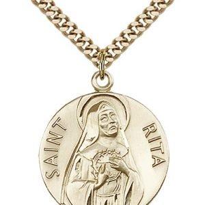 St. Rita of Cascia Medal - 81658 Saint Medal