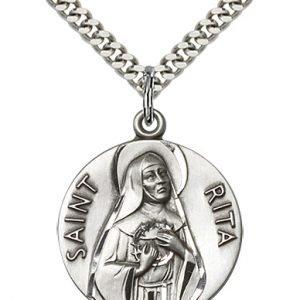 St. Rita of Cascia Medal - 81660 Saint Medal