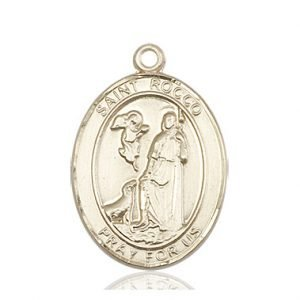 St. Rocco Medal - 82884 Saint Medal