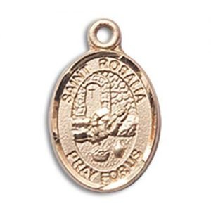 St. Rosalia Charm - 14 Karat Gold Filled (#85256)