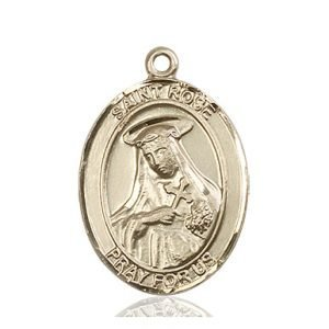 St. Rose of Lima Medal - 82179 Saint Medal
