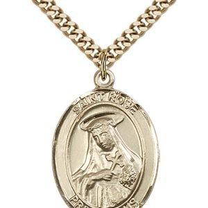 St. Rose of Lima Medal - 82178 Saint Medal