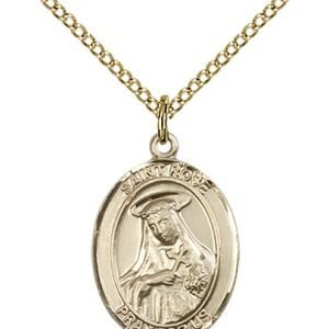 St. Rose of Lima Medal - 83544 Saint Medal