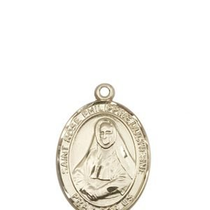 St. Rose Philippine Medal - 14 KT Gold - Medium