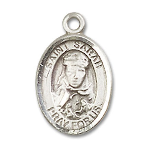 St. Sarah Charm - Sterling Silver (#M0049)