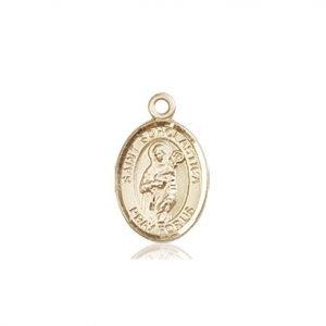 St. Scholastica Charm - 84746 Saint Medal