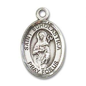 St. Scholastica Charm - 84747 Saint Medal