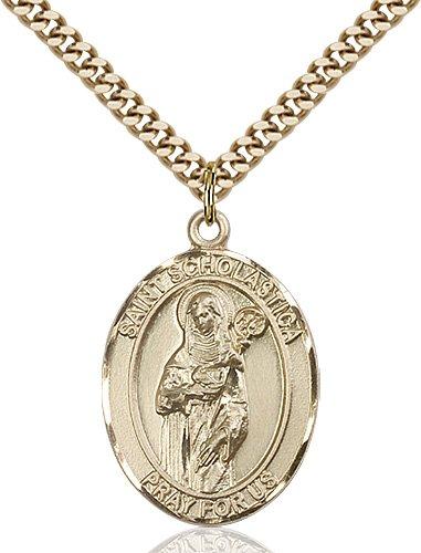 St. Scholastica Medal - 82187 Saint Medal