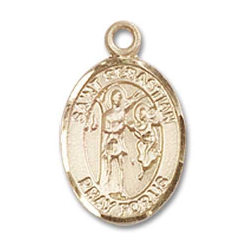 St. Sebastian Charm - 84748 Saint Medal