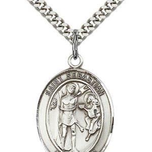 St Sebastian Medals